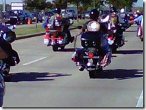 Patriot riders show up for the family